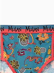 Disney Mulan Multi Mushu & Cricket Cotton Cheeky Panty, MULTI, alternate