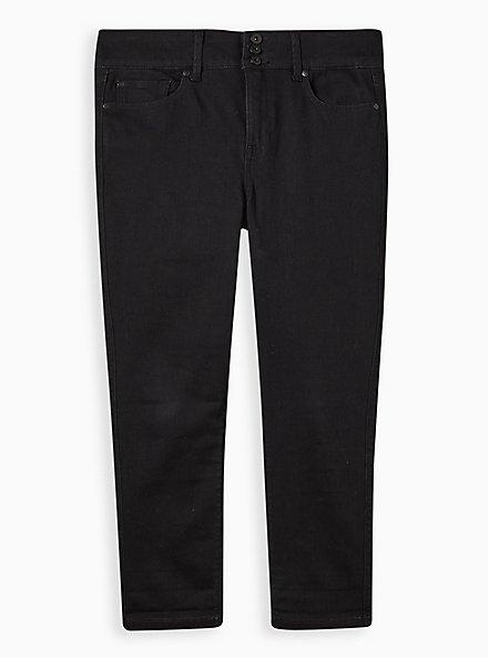 Crop Jegging - Super Soft Black, DEEP BLACK, hi-res