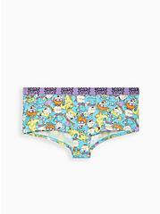 Nickelodeon Rugrats Multi Cotton Boyshort Panty, MULTI, hi-res