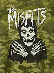 Classic Fit Ringer Tee - The Misfits Camo, CAMO-GREEN, alternate