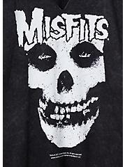 Classic Fit Raglan Tee - Misfits Black, DEEP BLACK, alternate