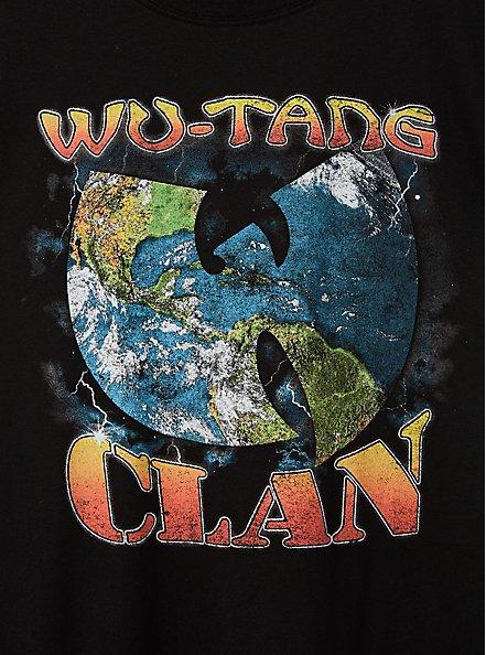 Wu Tang Clan Black Crew Tee, DEEP BLACK, alternate