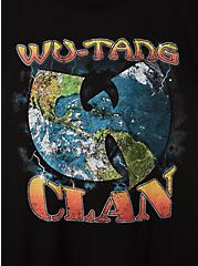 Classic Fit Crew Tee - Wu Tang Clan Black, DEEP BLACK, alternate