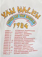 Classic Fit Cold-Shoulder Tee - Van Halen White, MARSHMALLOW, alternate