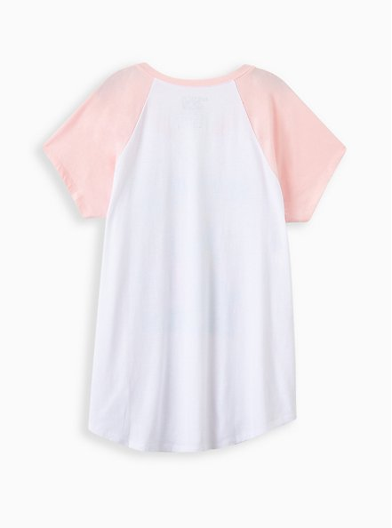 Classic Fit Raglan Tee - New Kids White, MARSHMALLOW, alternate