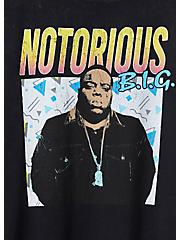 Classic Fit Crew Tee - Biggie Mineral Wash Black, DEEP BLACK, alternate