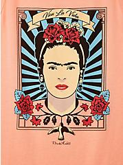 Classic Fit Tee - Frida Kahlo Coral, CORAL, alternate