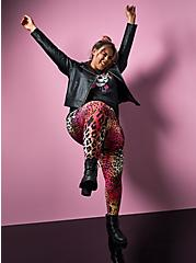 Betsey Johnson Multi Leopard Legging , MULTI, hi-res