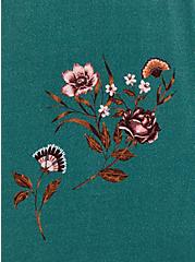 Super Soft Pine Green Floral Tiered Maxi Dress, FLORAL - GREEN, alternate