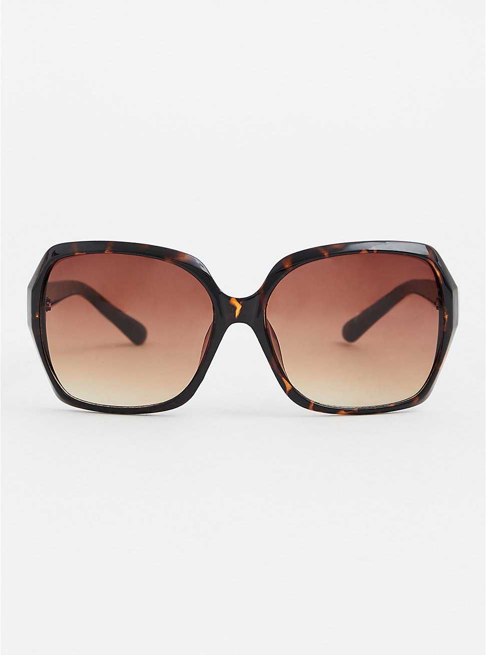 Tortoiseshell Square Sunglasses, , hi-res