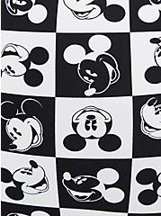 Disney Mickey Mouse Black Swim Rash Guard, BLACK-WHITE, alternate