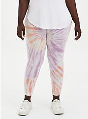 Premium Legging - Spiral Tie-Dye Multi, MULTI, alternate