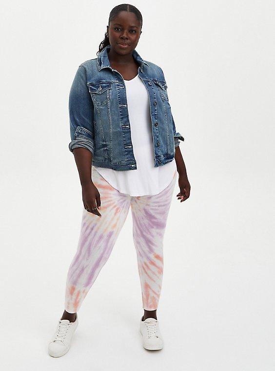 Premium Legging - Spiral Tie-Dye Multi, MULTI, hi-res