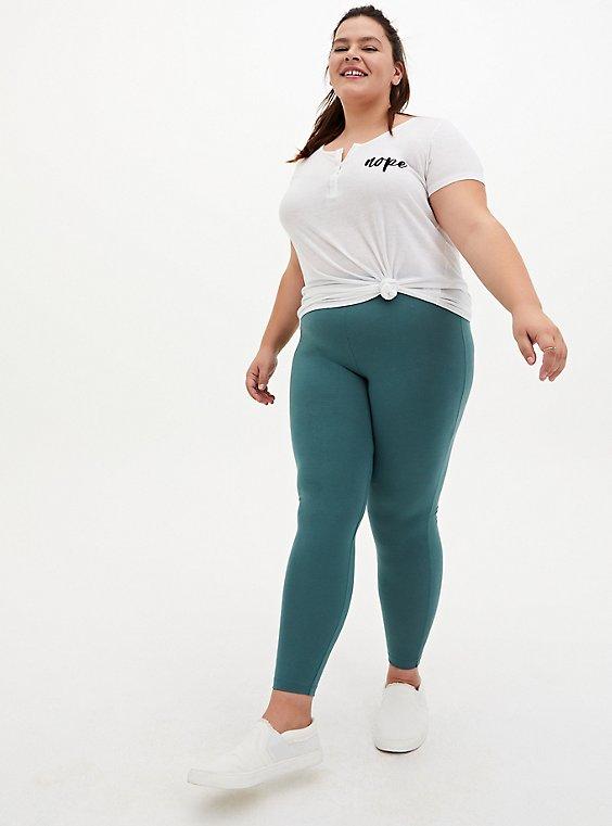 Premium Legging - Pine Green, , hi-res