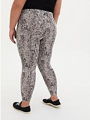 Premium Legging - Floral Pebble Grey , MULTI, alternate