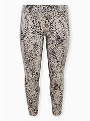 Premium Legging - Floral Pebble Grey , MULTI, hi-res
