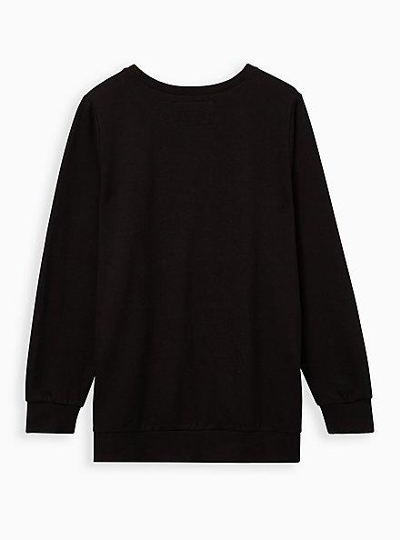 Black Selena Sweatshirt, DEEP BLACK, alternate