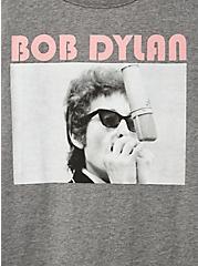 Classic Fit Crew Tee - Bob Dylan Grey, MEDIUM HEATHER GREY, alternate