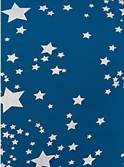 Blue Shooting Stars Microfiber & Lace Hipster Panty , SHOOTING STARS- BLUE, alternate
