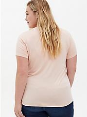 Perfect Tee - Super Soft Light Pink, PINK, alternate