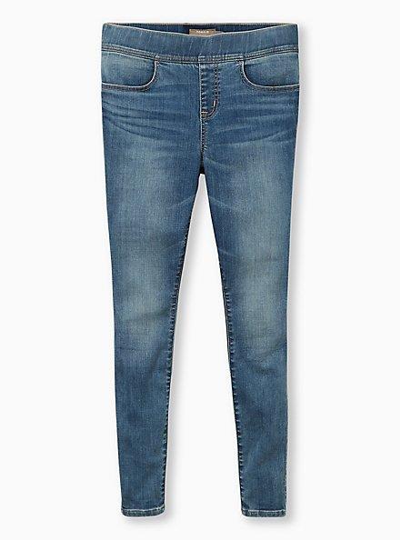 Lean Jean - Super Soft Medium Wash , TYPHOON, hi-res