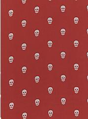 Sophie - Dusty Red Skull Dot Chiffon Swing Cami , MULTI, alternate