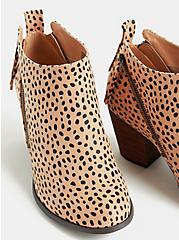 Cheetah Faux Suede Ankle Bootie (WW), ANIMAL, alternate