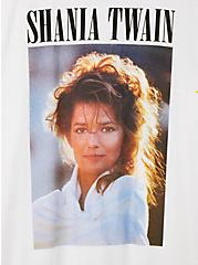 Shania Twain White Crew Tee, MARSHMALLOW, alternate