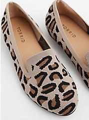 Leopard Stretch Knit Loafer (WW), ANIMAL, hi-res
