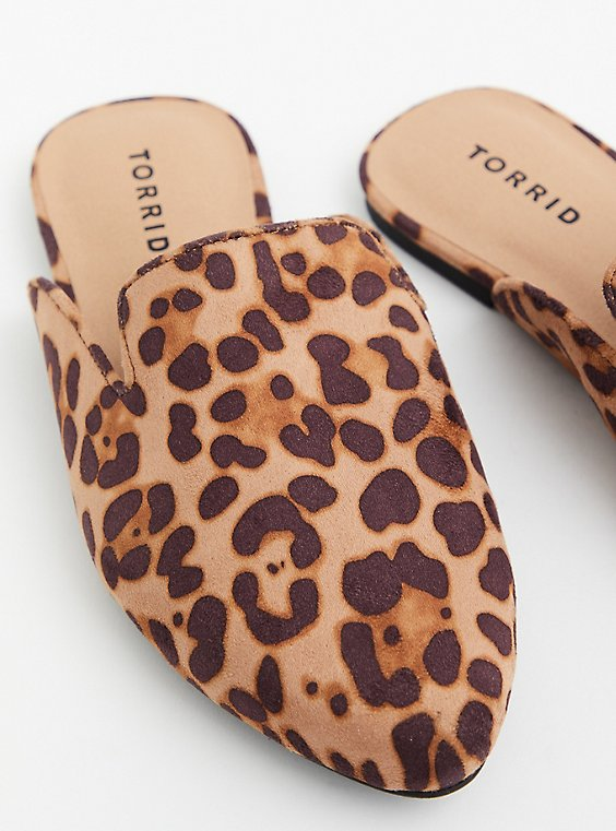 Leopard Faux Suede Slip-On Loafer (WW), ANIMAL, hi-res