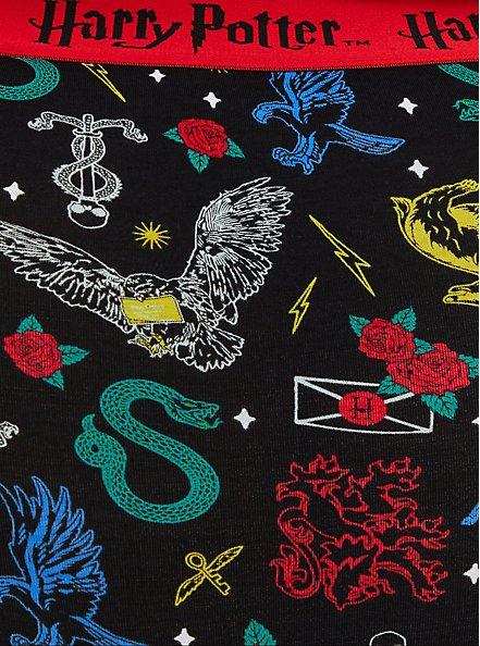 Harry Potter House Symbols Cotton High Waist Panty , MULTI, alternate