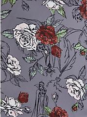 Disney Villains Floral Georgette Fit & Flare Tank, MULTI, alternate