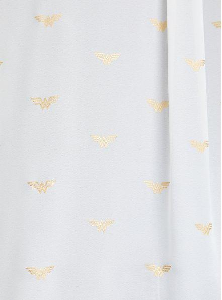 Madison Button-Up Shirt - Georgette Wonder Woman , MULTI, alternate