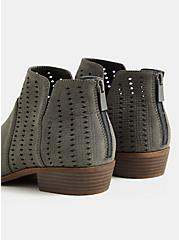 Charcoal Grey Ankle Bootie (WW), CHARCOAL, alternate