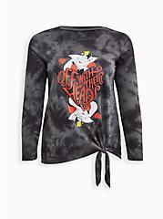 Disney Villains Tie-Dye Queen of Hearts Top, NINE IRON, hi-res