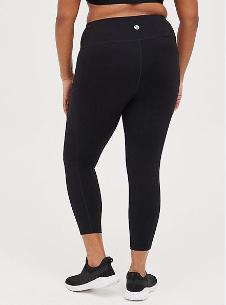 Black Active Lightweight Legging with Pockets, BLACK, alternate