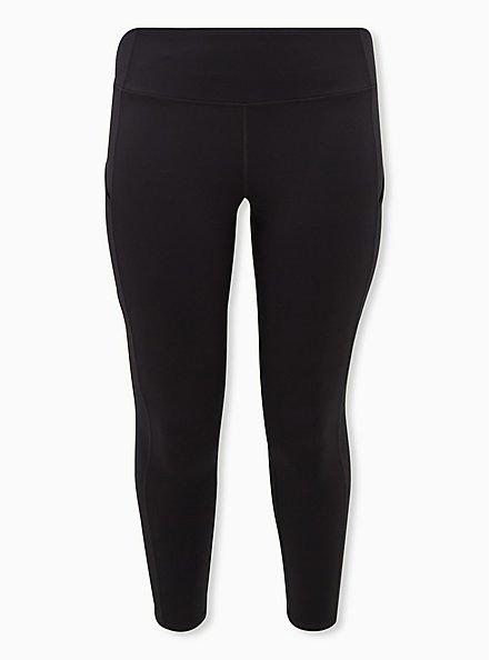 Black Active Lightweight Legging with Pockets, BLACK, hi-res