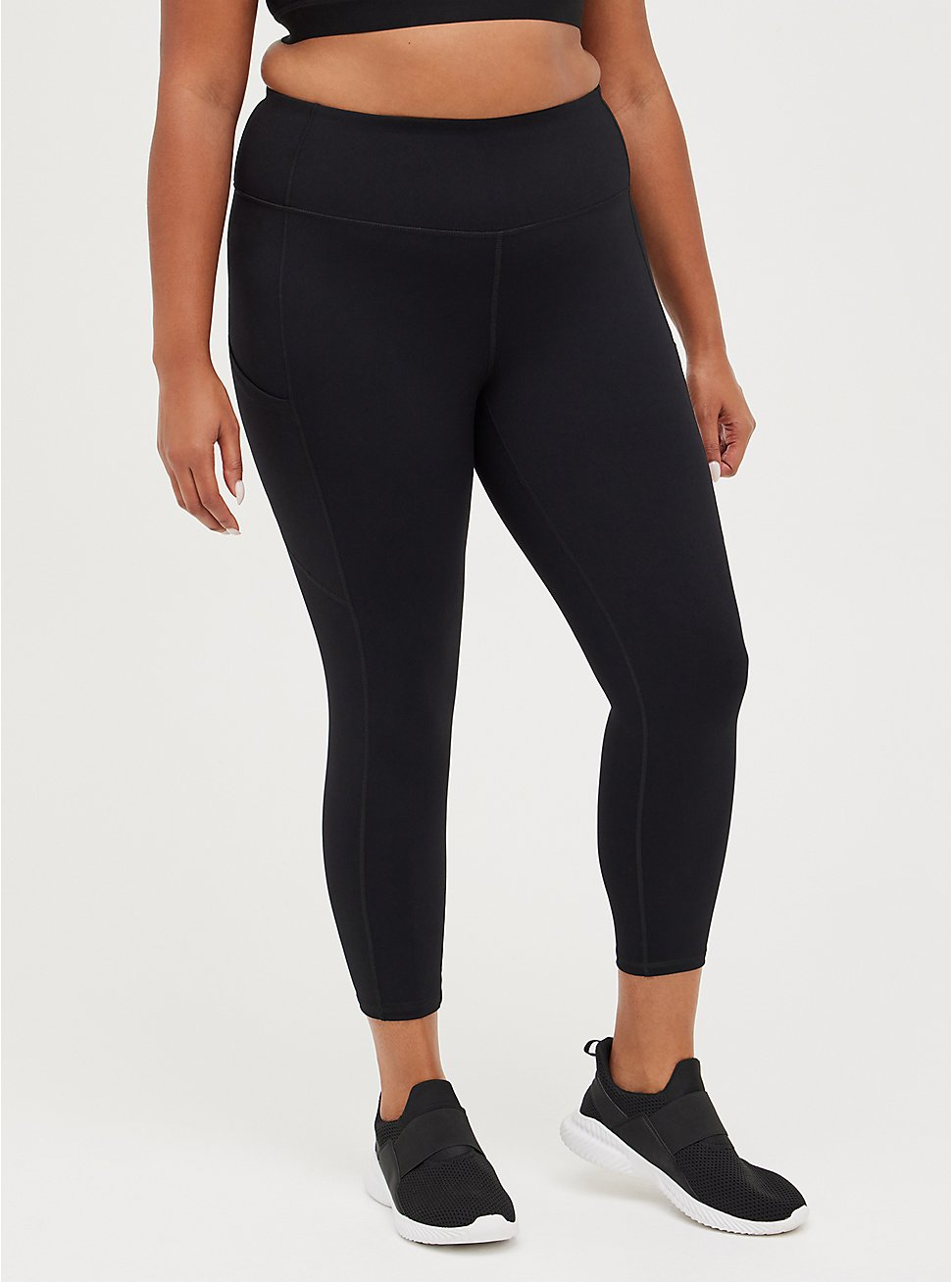Black Active Lightweight Legging with Pockets, BLACK, hi-res