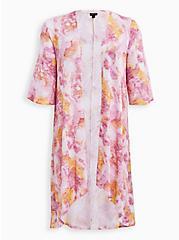 Multi Watercolor Hacci Kimono, MULTI, hi-res