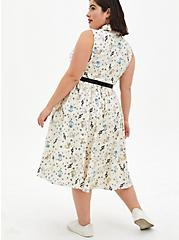 Disney The Aristocats White Retro Swing Dress, MULTI, alternate