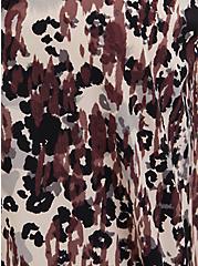 Leopard & Black Lace Button Cami, LEOPARD - TAN, alternate