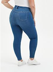 Bombshell Skinny Jean - Super Soft Medium Wash, DISCO FEVER, alternate