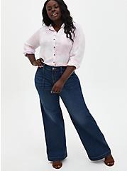 High Rise Wide Leg Jean - Vintage Stretch Medium Wash, BACK COUNTRY, alternate