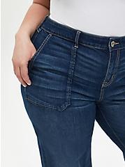 Plus Size High Rise Wide Leg Jean - Vintage Stretch Medium Wash, BACK COUNTRY, alternate