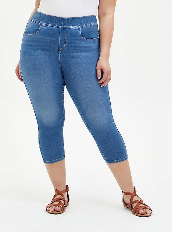 Crop Lean Jean - Super Soft Light Wash, , hi-res