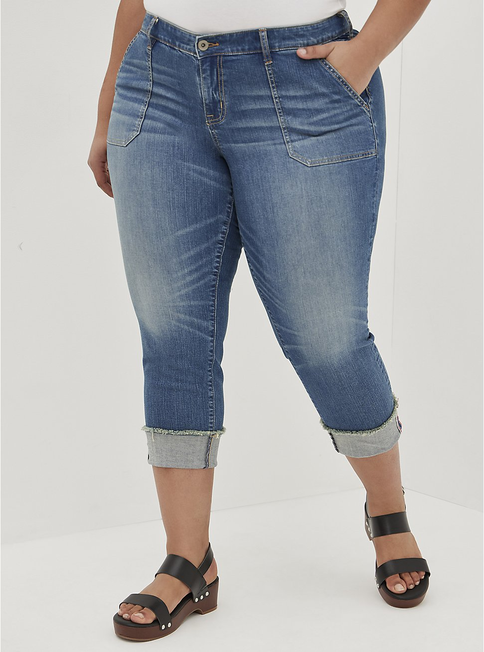 Crop Boyfriend Jean - Vintage Stretch Medium Wash, BACKSEAT BINGO, hi-res