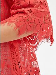 Coral Lace Kimono, DEEP SEA CORAL, alternate