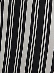Multi Stripe Ponte Paperbag Short, MULTI STRIPE, alternate