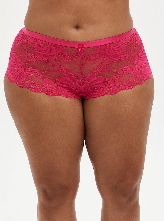 Lace Cheeky Panty, , hi-res