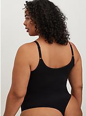 Seamless Thong Bodysuit - Black, RICH BLACK, alternate